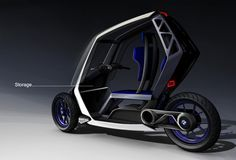 BMW   C1+ by Jean-Thomas MAYER, via Behance