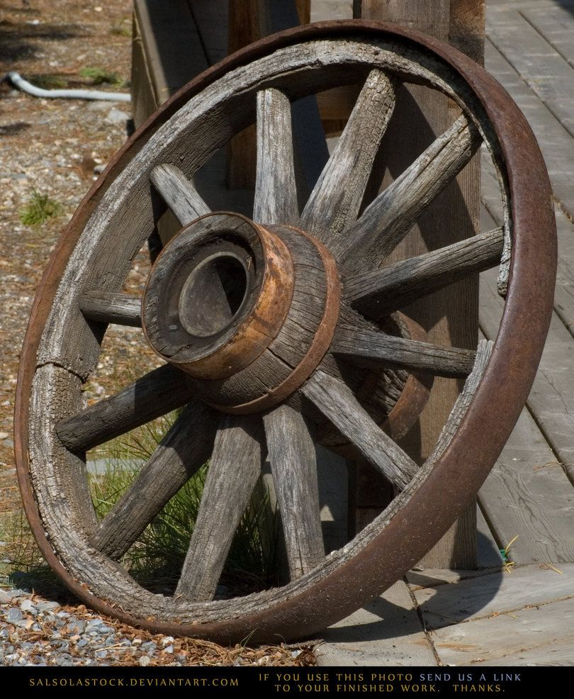 antique wagon wheels | Old Wagon Wheel by SalsolaStock on deviantART |  Wagon wheel, Old wagons, Antique wagon