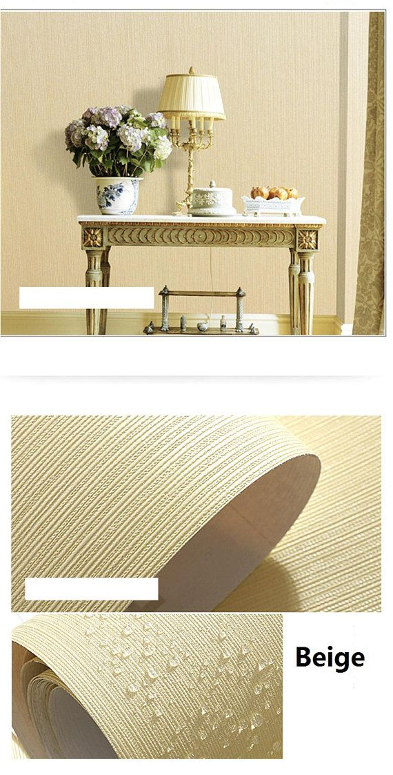 Removable Wallpaper Trendy Solid Pastel Colors Textured