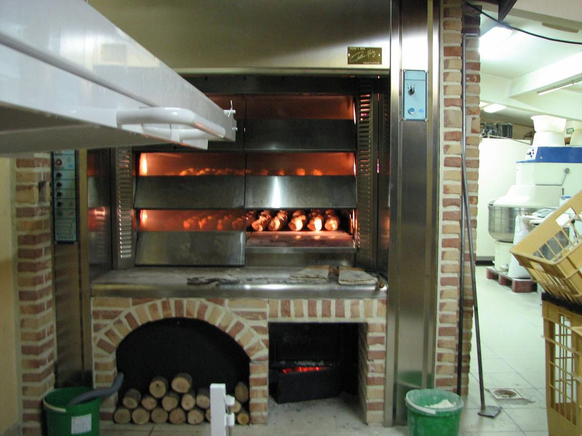 Resultado De Imagen De Hornos De Panaderia Giratorios De Leña Panadería Hornos Panaderia Y Pasteleria