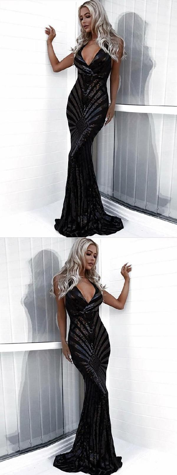 Enticing prom dresses black mermaid prom dresses prom dresses