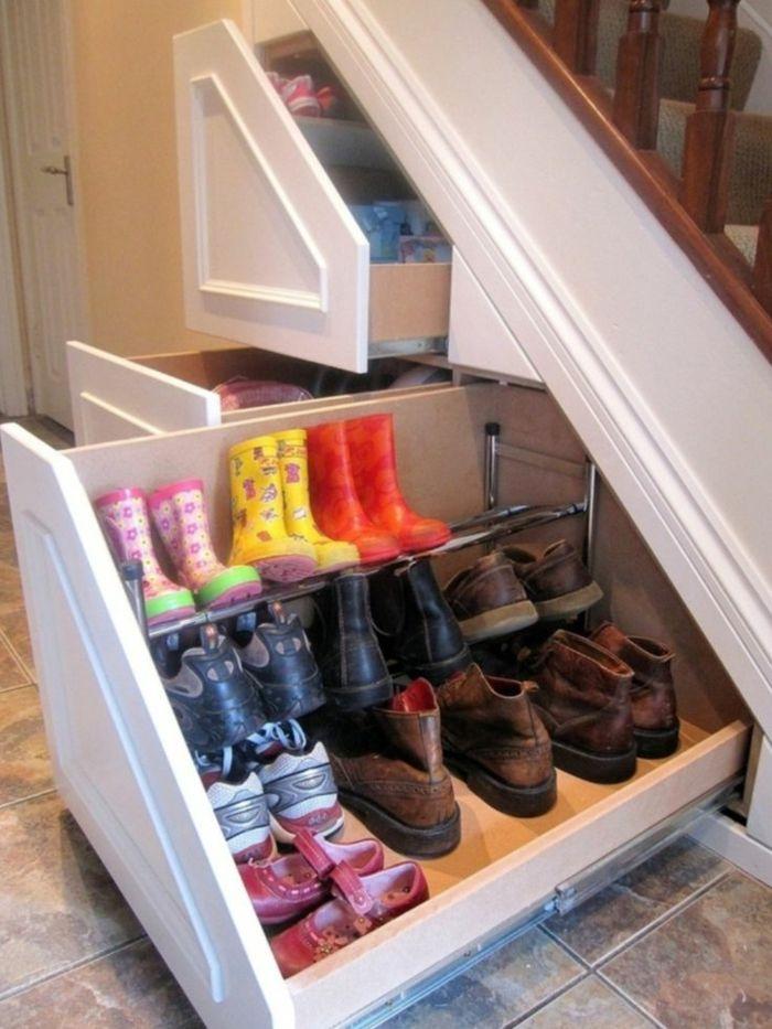 Schrank unter treppe und andere l sungen wie sie f r mehr for Schuhschrank unter treppe