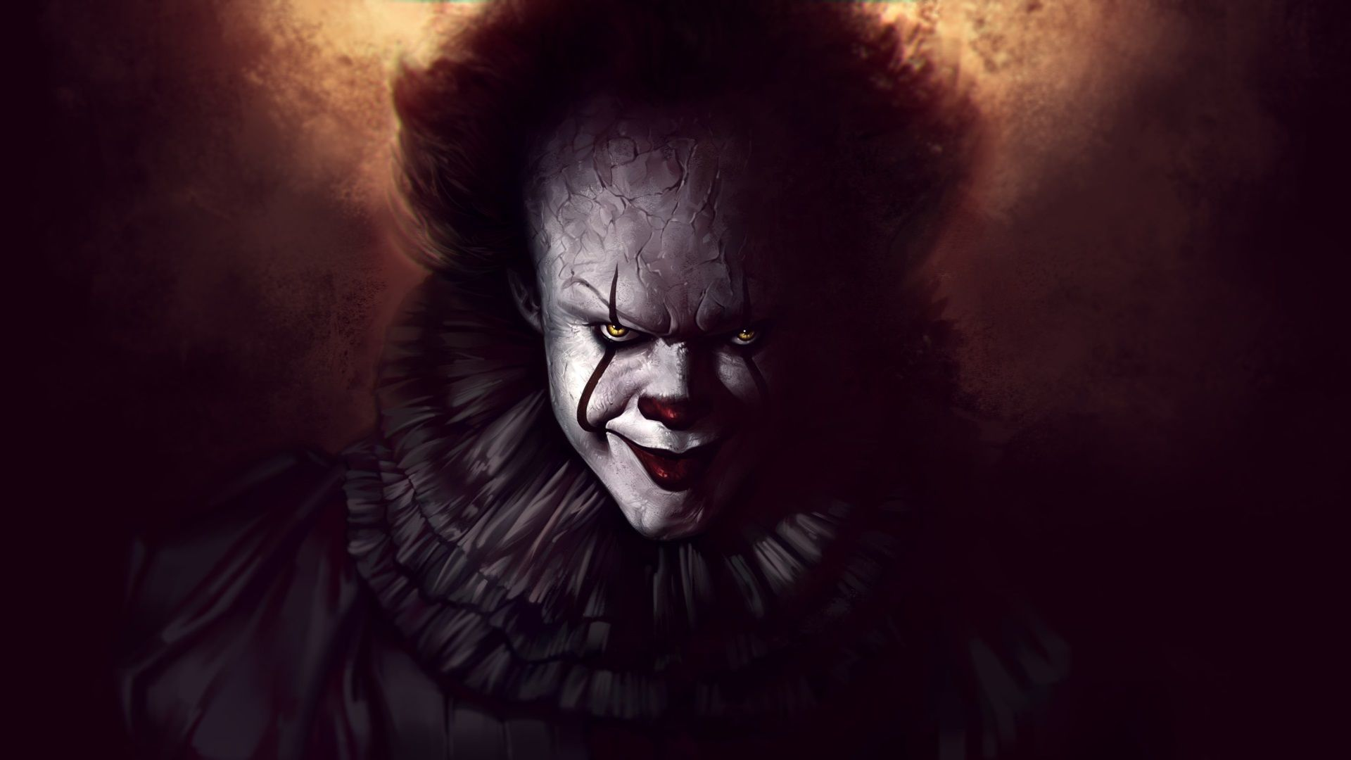 1920x1080 Pennywise Hd Image Pennywise The Dancing Clown Pennywise Scary Wallpaper