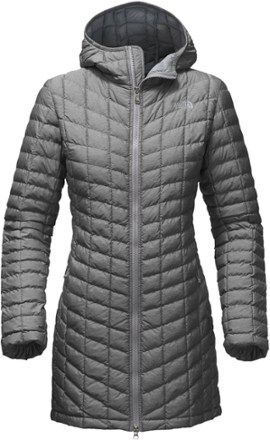 f0eee69127 The North Face Women's ThermoBall Parka II Insulated Jacket Tnf Medium Grey  Heather XXL