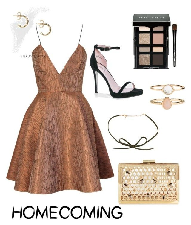 """homecoming "" by hmcepik ❤ liked on Polyvore featuring Joana Almagro, Boohoo, Bobbi Brown Cosmetics, ASOS and Accessorize"