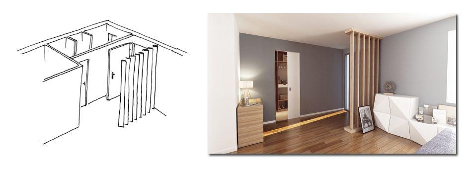entr e avec claustra int rieur maison pinterest. Black Bedroom Furniture Sets. Home Design Ideas