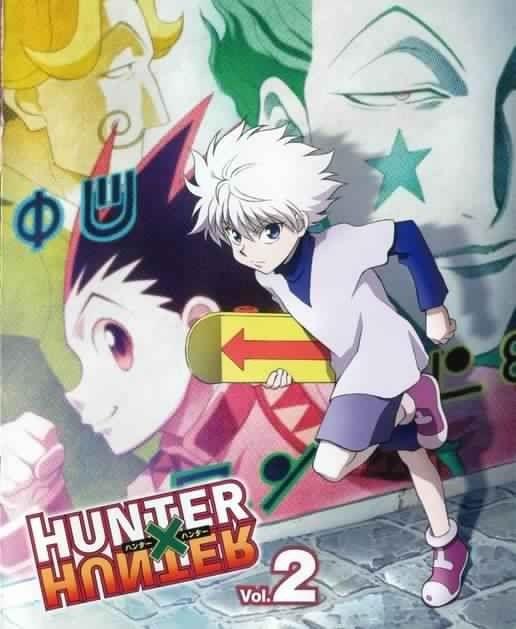 Satotz gon killua and hisoka hunter x hunter hunter x hunter yoshihiro togashi madhouse hunter x hunter hisoka killua zaoldyeck voltagebd Gallery