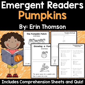 Emergent Readers Pumpkins {Life Cycles} Emergent