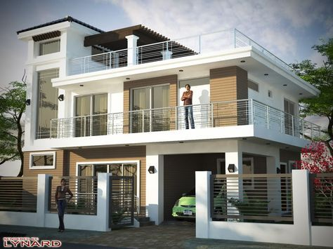 3 Story House Plans With Roof Deck Design A House Interior 2 Storey House Design 3 Storey House Design Bungalow House Design