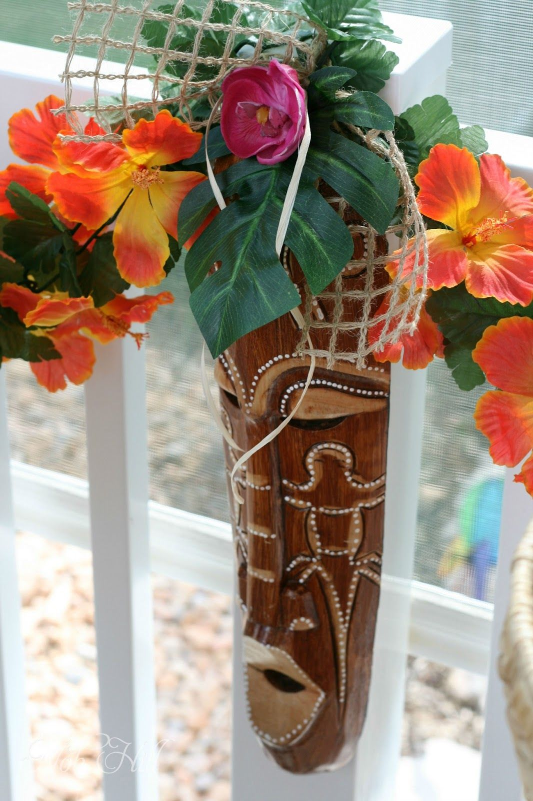 Luau Sneak Peek Adult luau party, Hawaiian party decorations