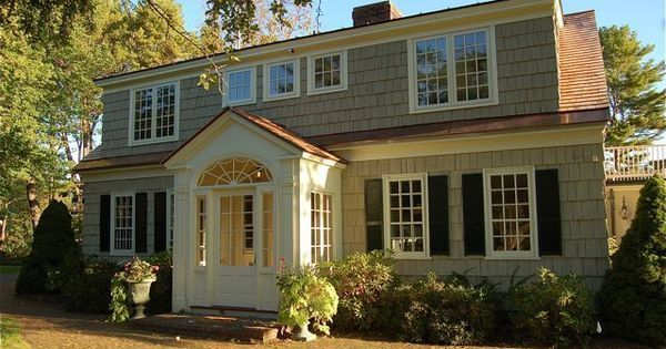 Image Result For Cape Cod House With Enclosed Mudroom Dormer