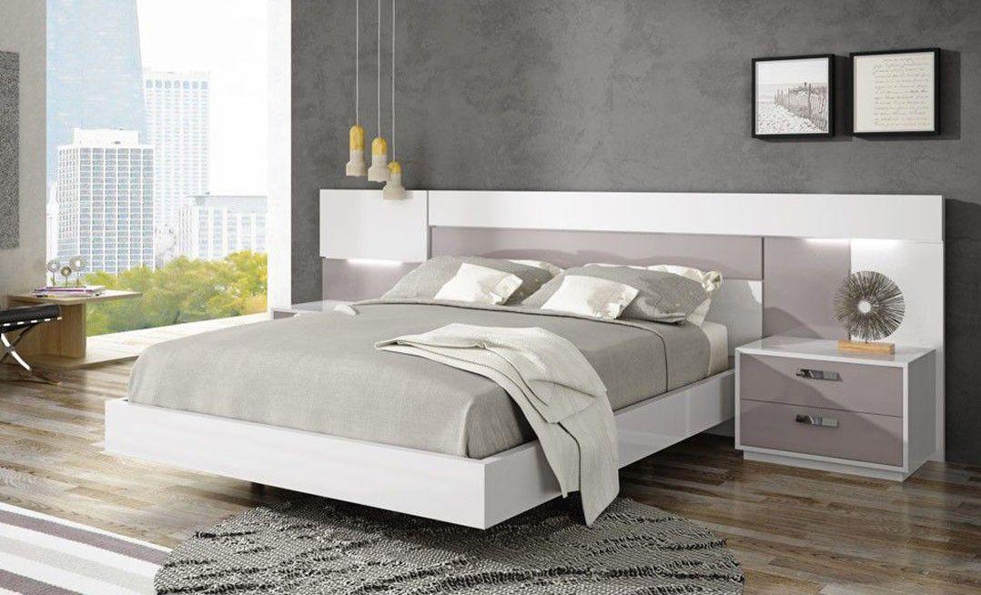 Dormitorio look 302 g novas dormitorios modernos - Muebles casal valencia ...