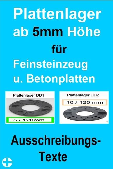 Plattenlager Hohe 5mm Ausschreibungstexte Terrasa Ru Dachterrasse Terrasse Und Stelzlager