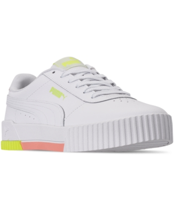 Puma Women Carina Leather Casual Sneakers from Finish Line