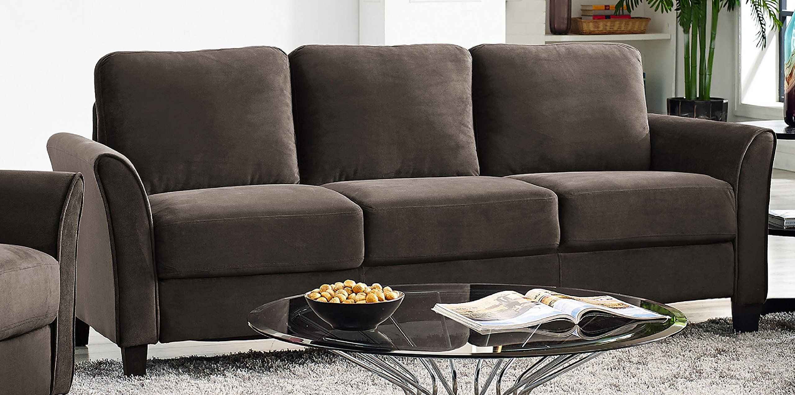 Lifestyle Solutions Watford Sofa Coffee Sectional Sofa With