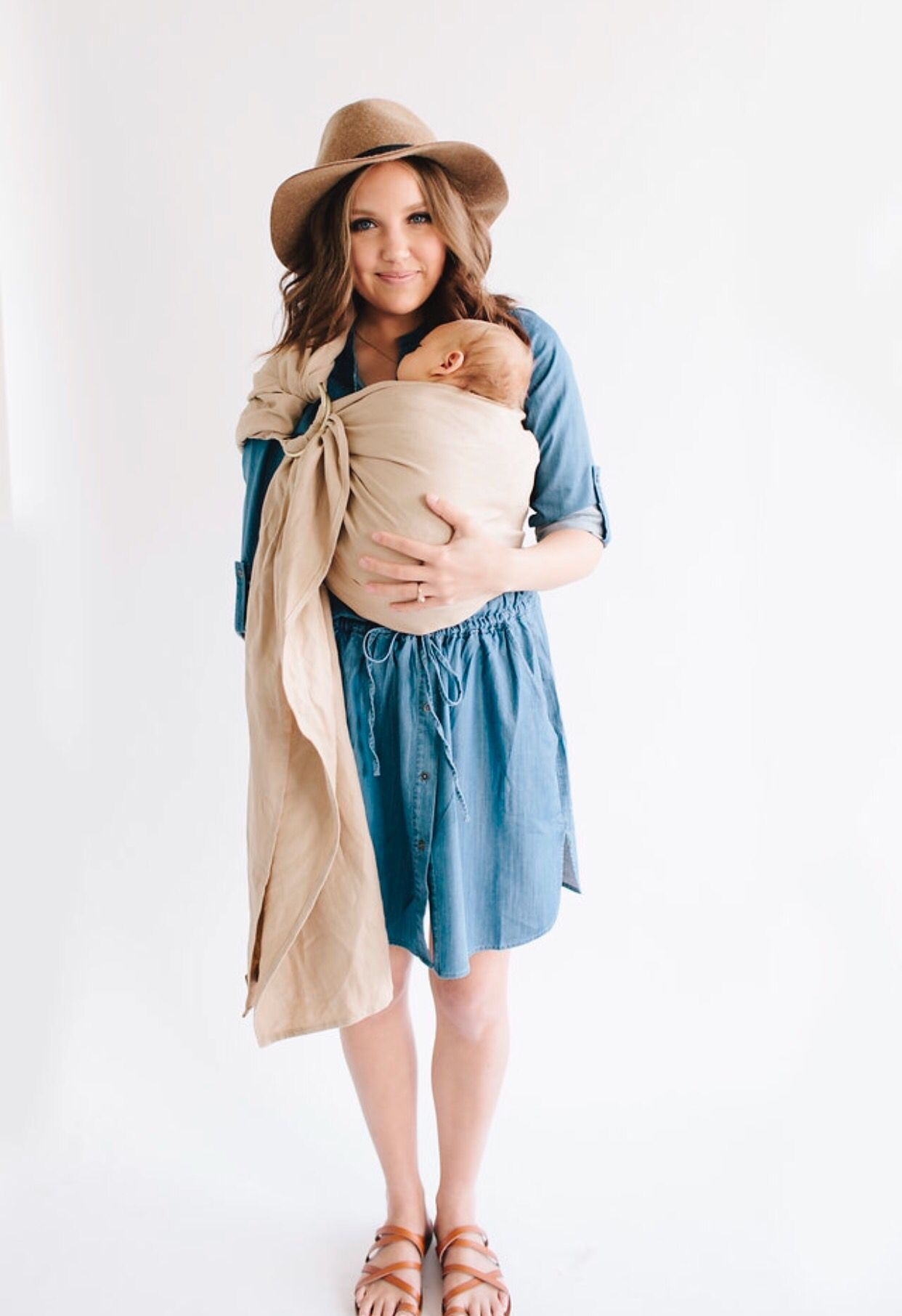 Wildbird Linen Baby Carrier Ring Sling Motherly Love Pinterest