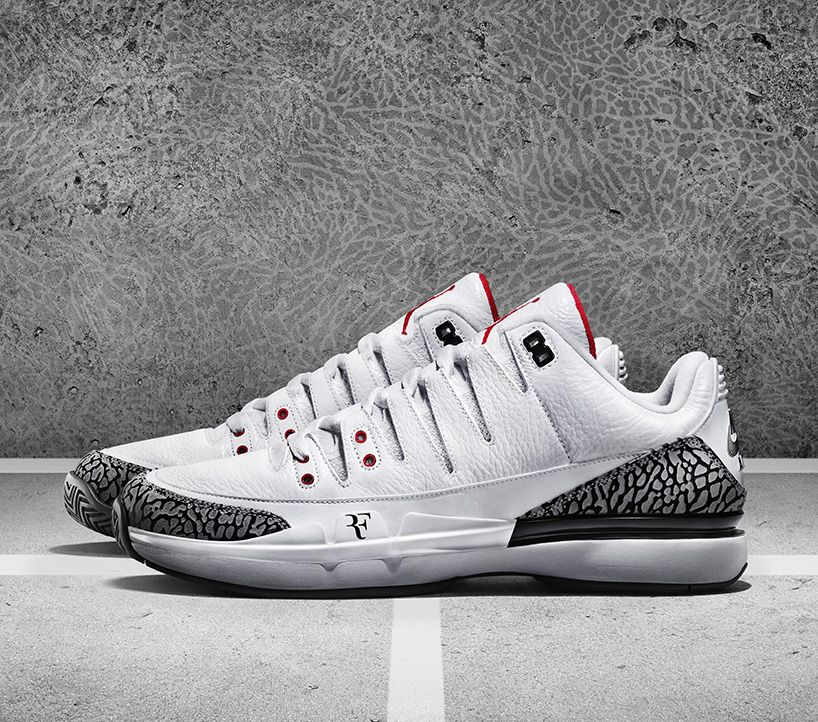 b945a657269fee NIKECOURT zoom vapor AJ3 by jordan connects the courts