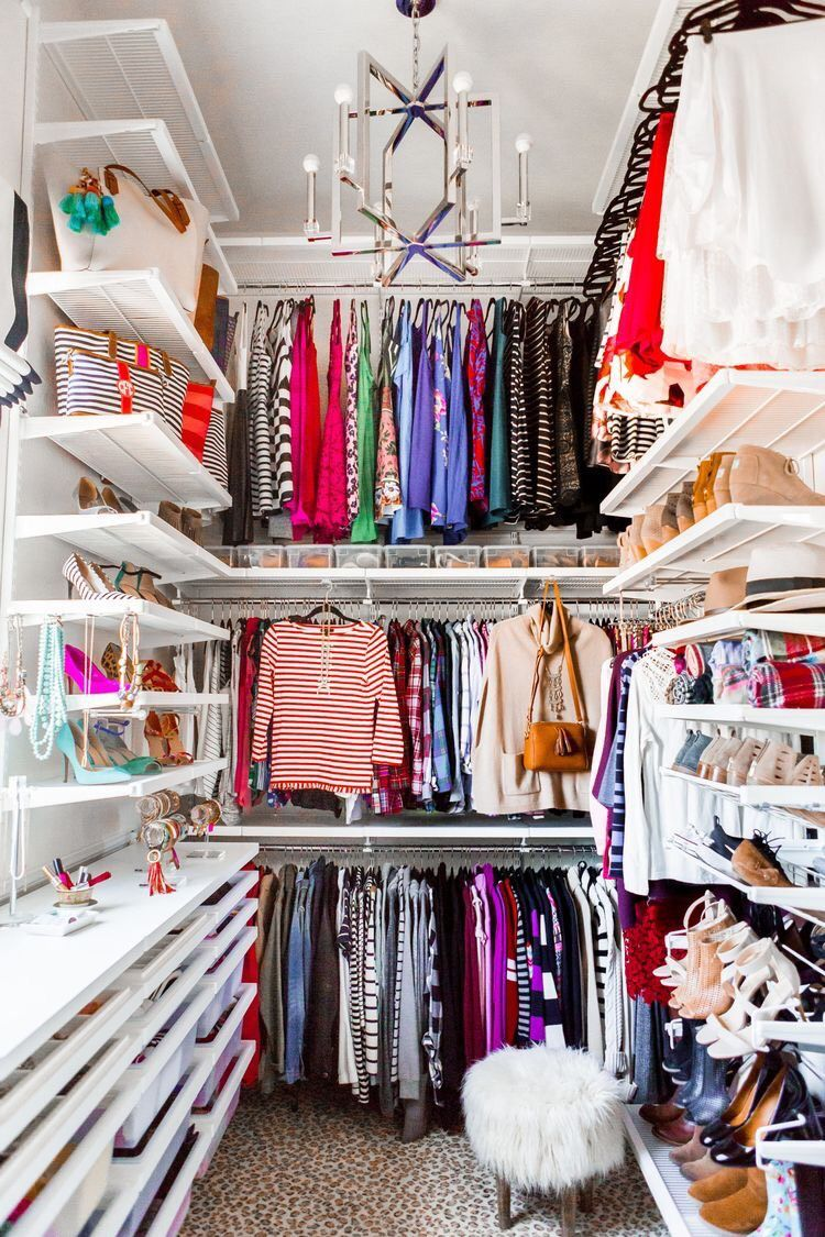 How To Organize Your Closet Walk In Small Spaces