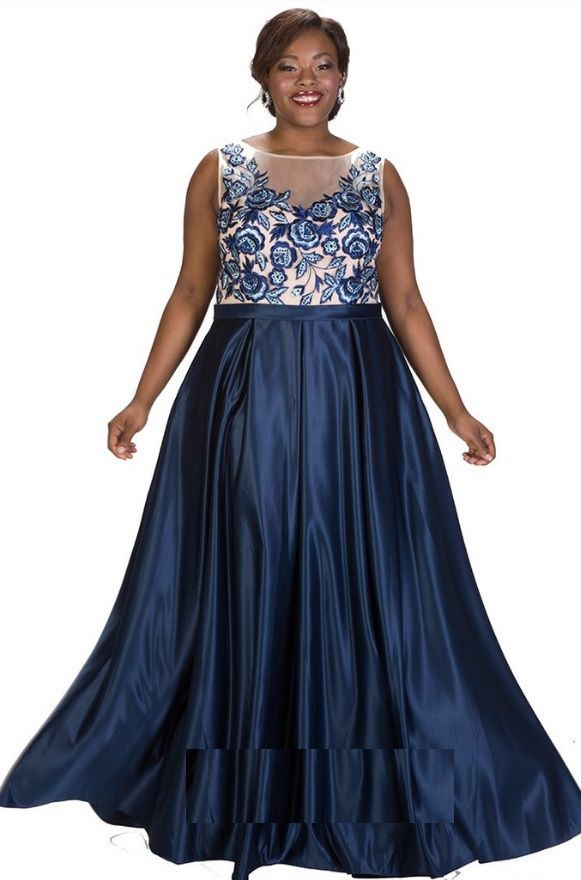 cee5d293372 Check out the deal on Sydneys Closet SC7221 Plus Size Breathless Prom Dress  at French Novelty