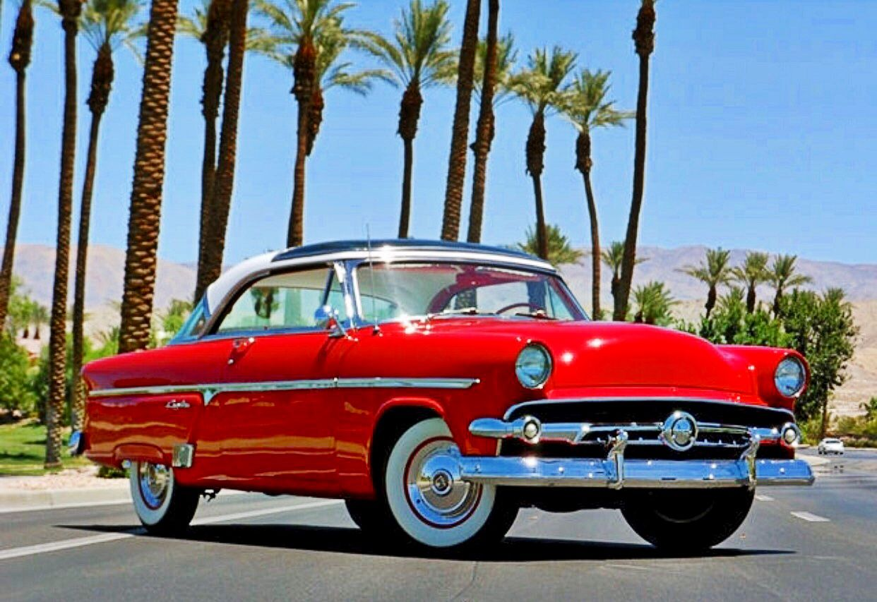 54 Ford Skyliner American Classic Cars Classic Cars Trucks Ford Classic Cars
