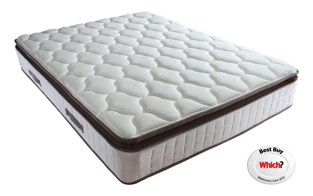 plush Sealy latex mattress