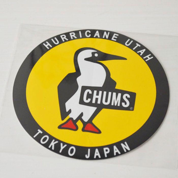 チャムスステッカー タイポグラフィのロゴ チャムス ステッカー ステッカー