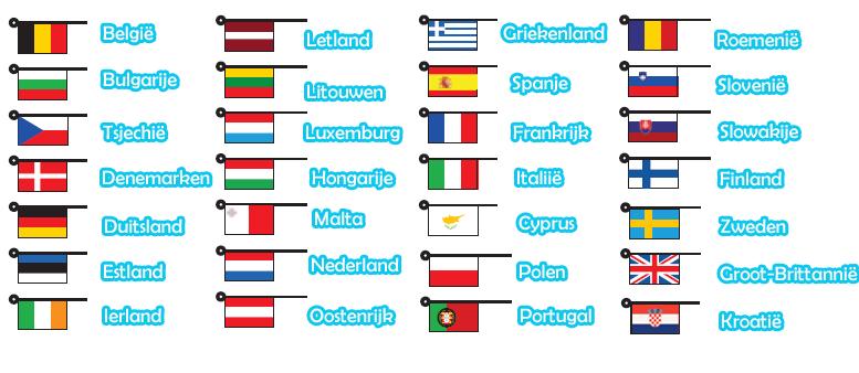 afbeeldingsresultaat voor europa landen vlaggen europa