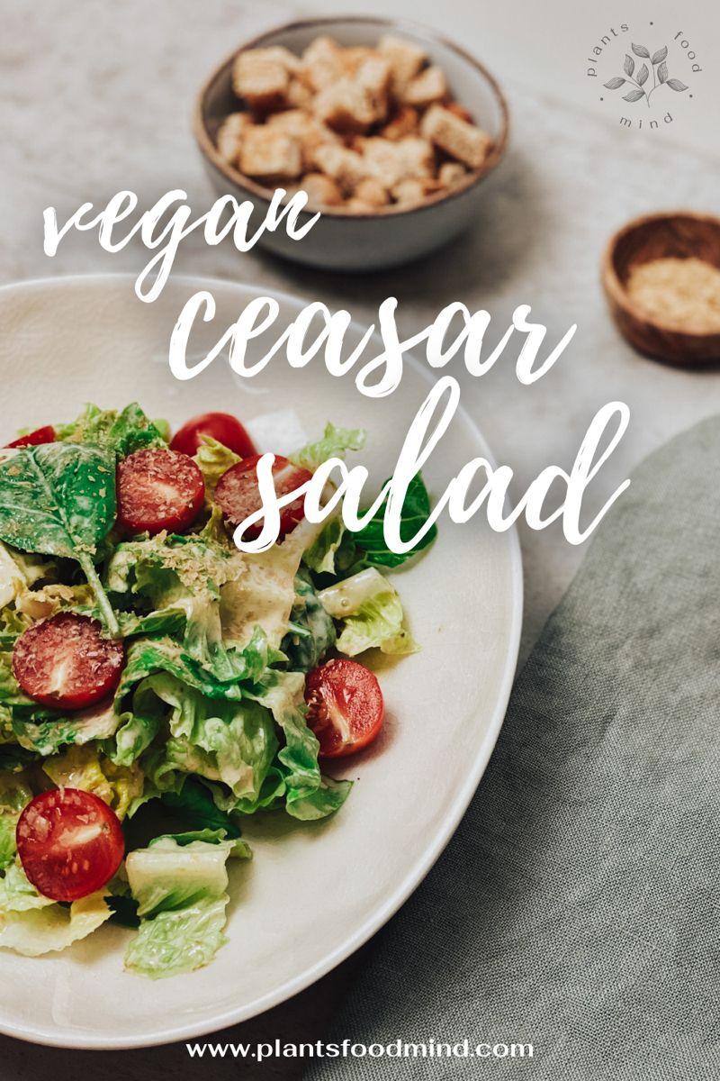 Check out our #vegan #ceasar #salad 🥗 #veganrecipes #plantbasedrecipes #veganideas #veganfood #vegandinner #veganlunch #lactosefreediet #lactosefree #dairyfree #dairyfreerecipes 🌱