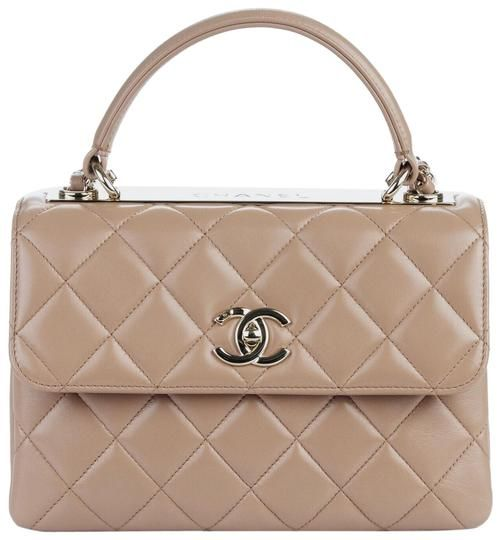 4ee888f2ef44cb Chanel Small Quilted Trendy Cc Gold Hardware New Beige Lambskin Leather Shoulder  Bag - Tradesy