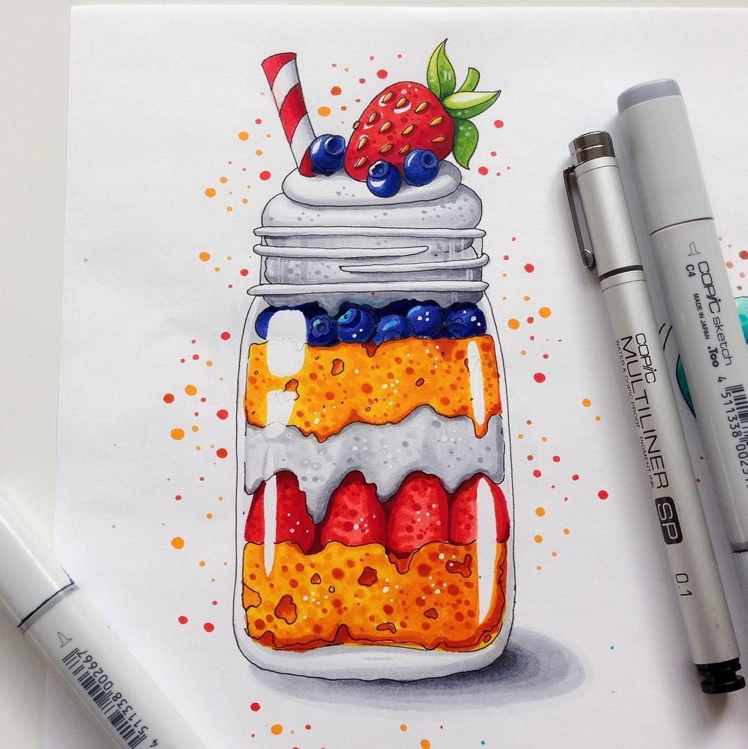 Food Illustration @ Instagram