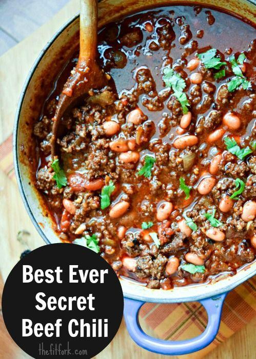 Best Ever Super Secret Chili Recipe Beef Browning Tip Recipe Beef Chili Recipe Secret Chili Recipe Best Chili Recipe