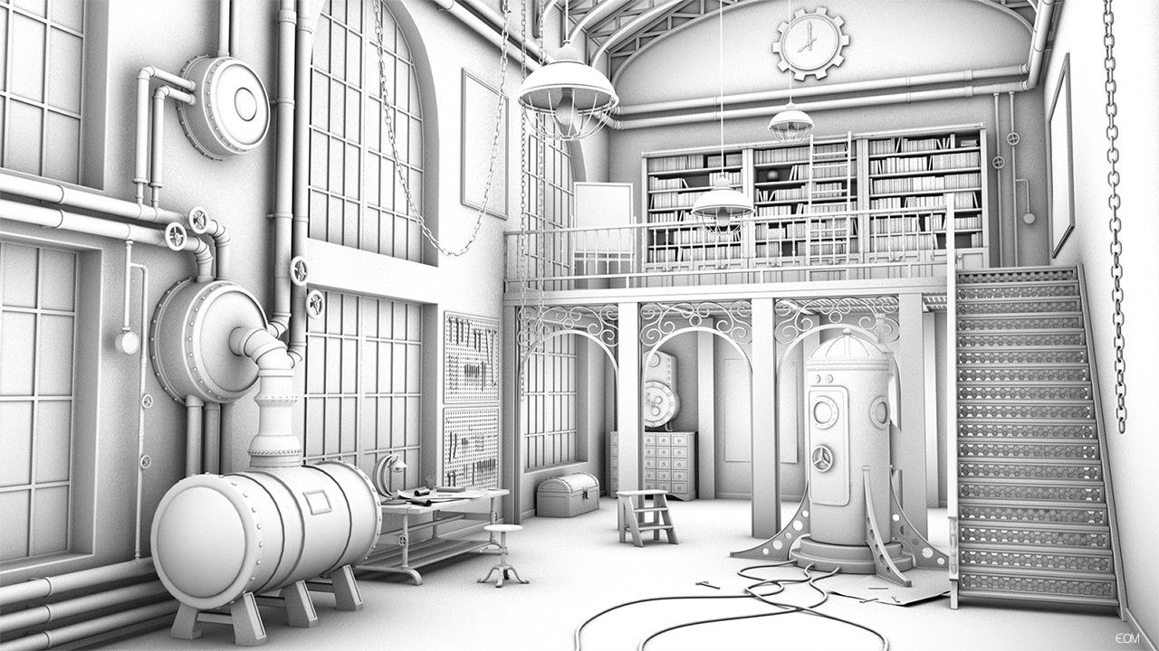 steampunk environments Buscar con Google (With images