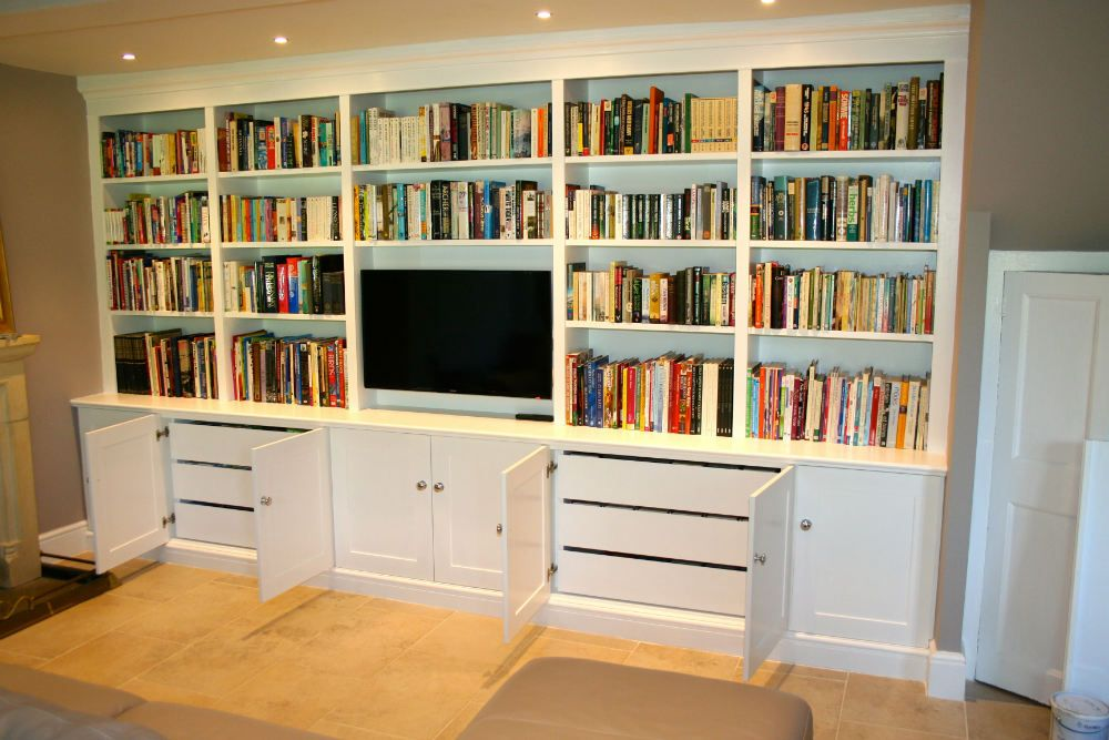 custom made bookcases with images  media furniture