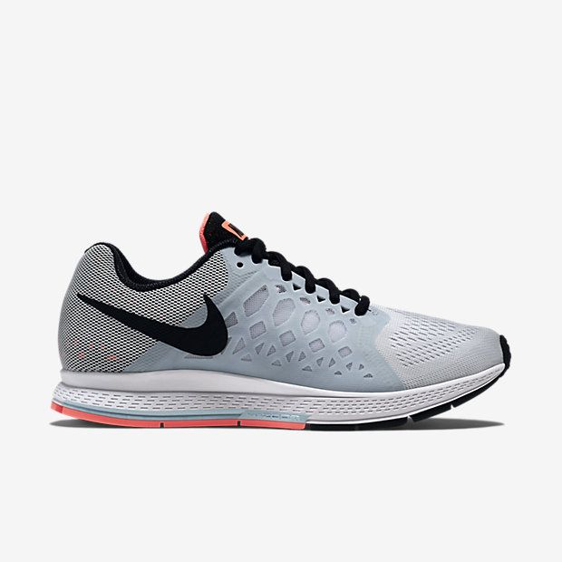 big sale 4e61e 07f88 Women s Nike Air Zoom Pegasus 31 Pure Platinum White Wolf Grey Black