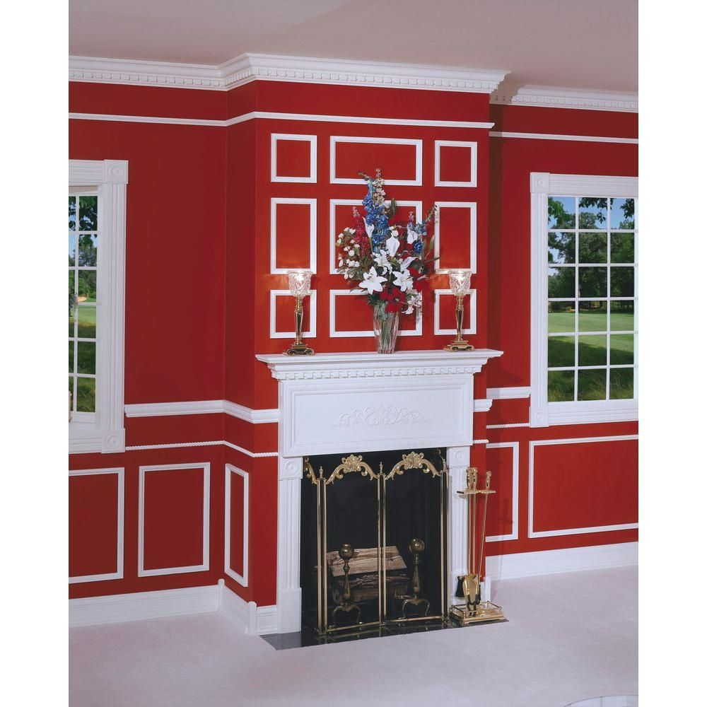 House Of Fara 3 4 In X 3 5 8 In X 8 Ft Hardwood Dentil Crown Moulding 59008 The Home Depot Crown Molding Hardwood The Home Depot