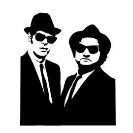 Blues Brothers Stencil Blues Brothers Blues Pop Art