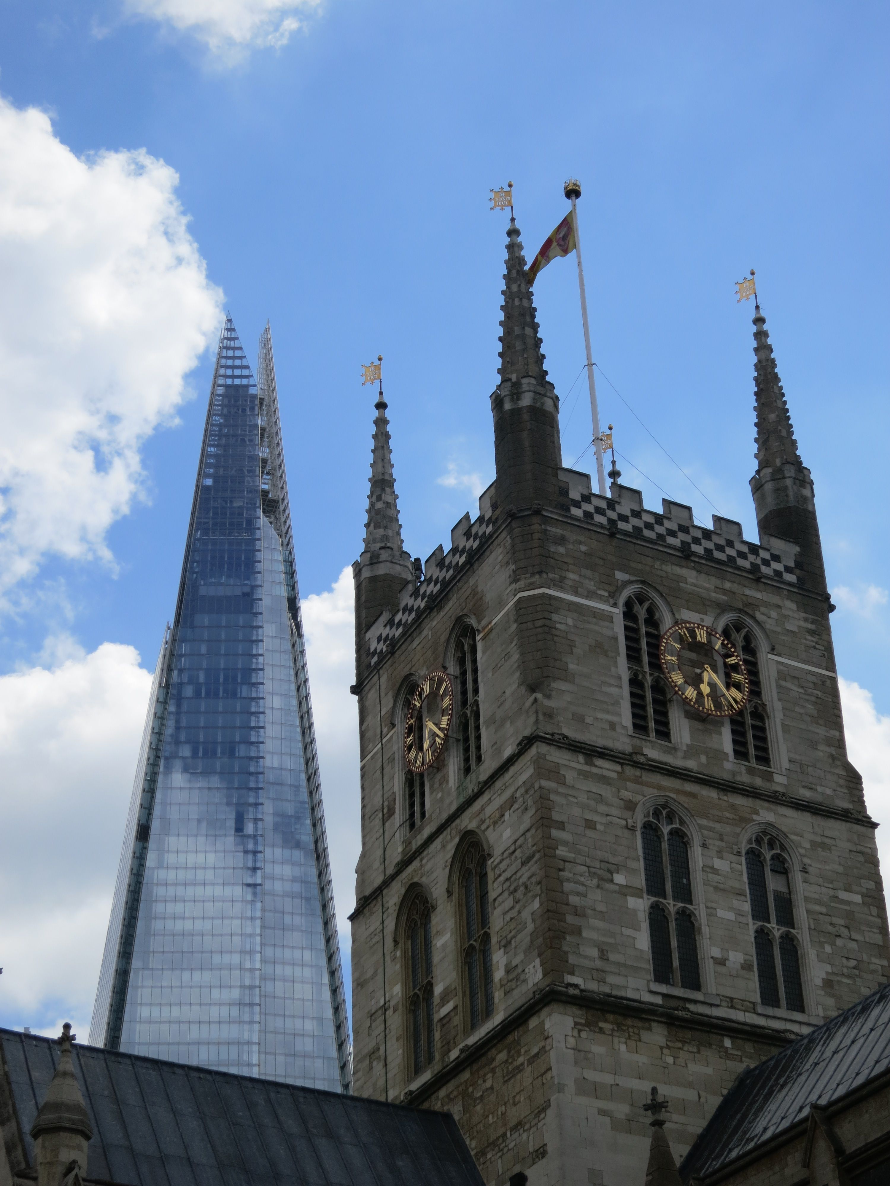 #Southwark #Cathedral and the #Shard #London