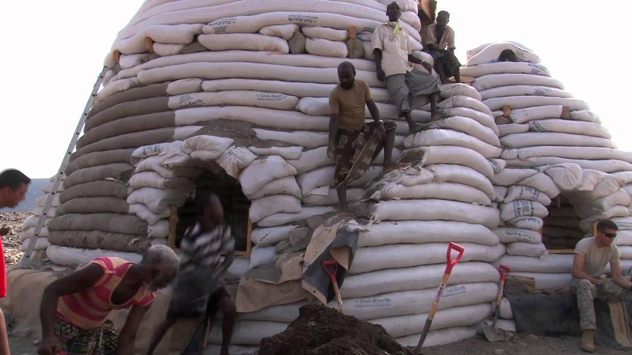 Eco Dome Construction Continues- DJIBOUTI
