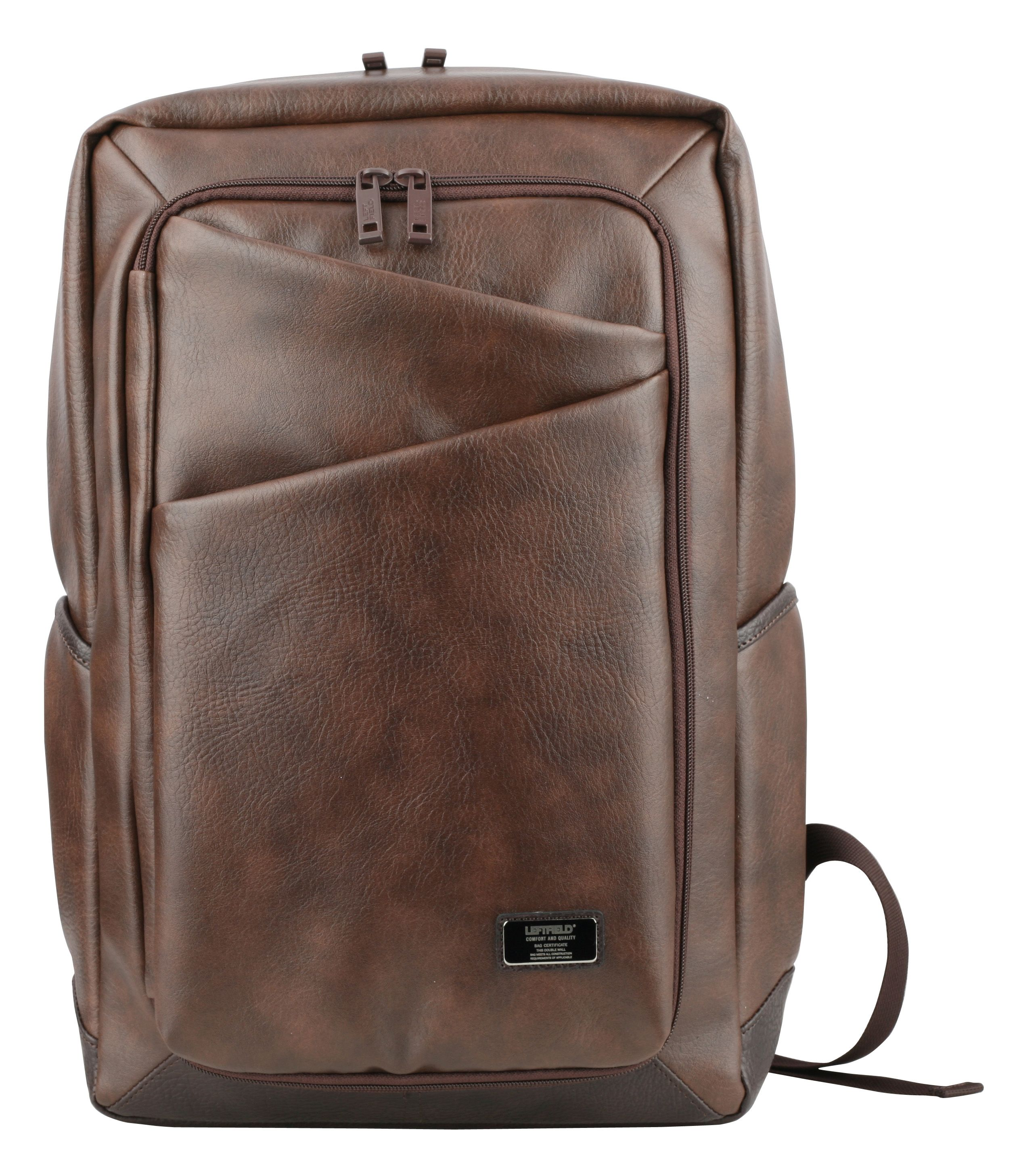 8290b23007 Korean fashion backpacks for men. Vintage style faux leather daypacks for  school