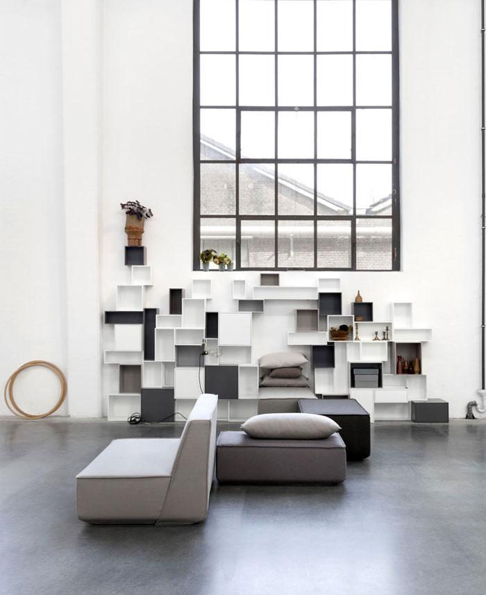 Sofa System Allows You To Create An Custom Made Modular Sofa