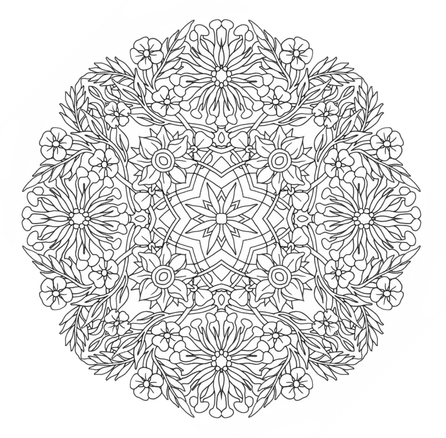 Coloring Pages Mandala Coloring Pages Printable 1000 images about mandalas on pinterest coloring free printable pages and books