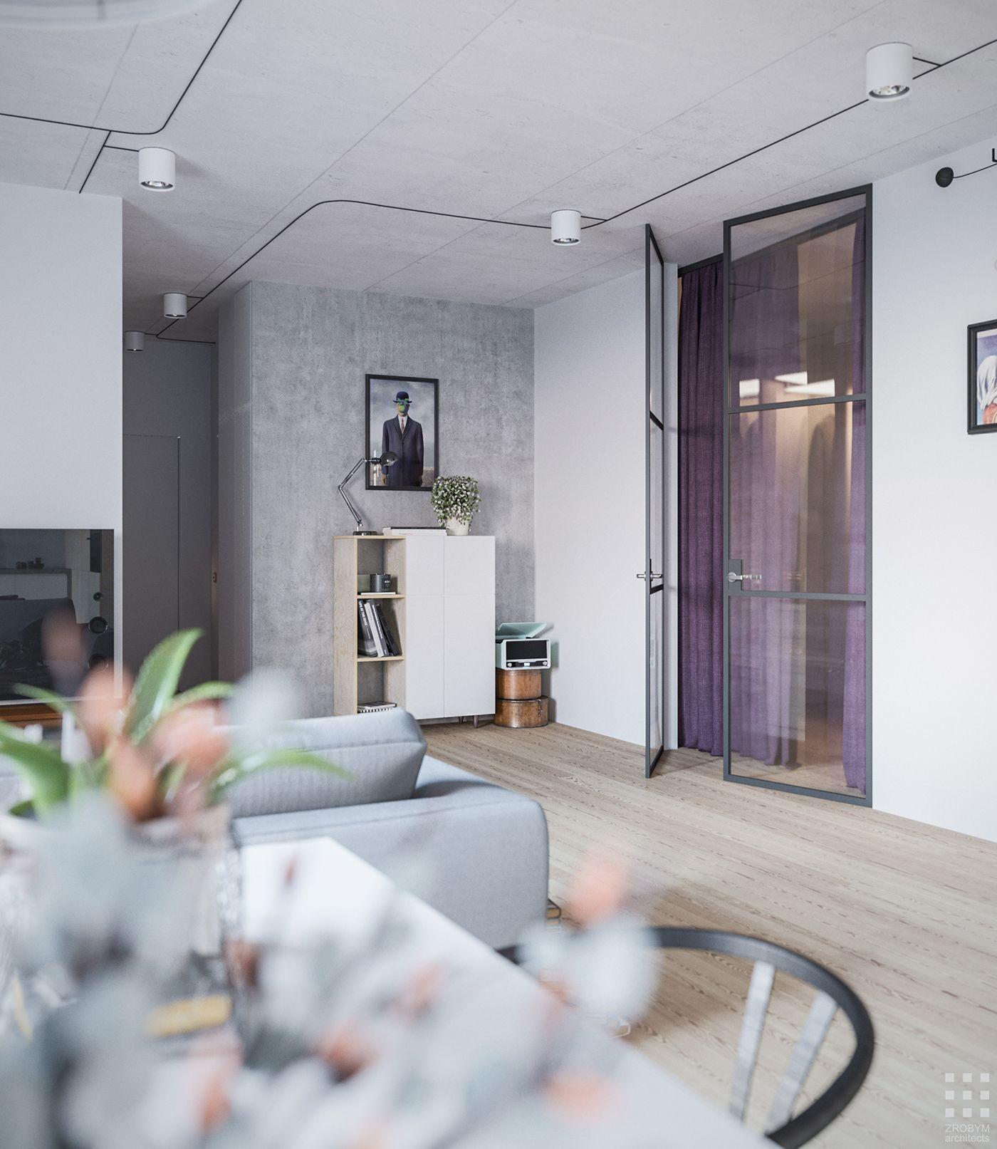 Cascade Apartment On Behance Apartment Apartment Interior Design Apartment Design