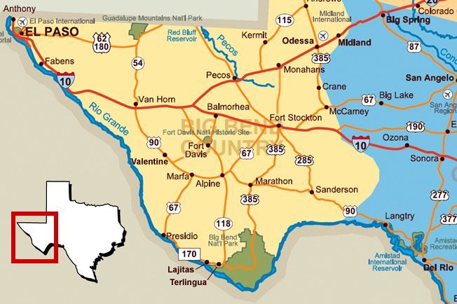 Langtry Texas Map FORT DAVIS To FORT STOCKTON Gardening That I - Map of west texas