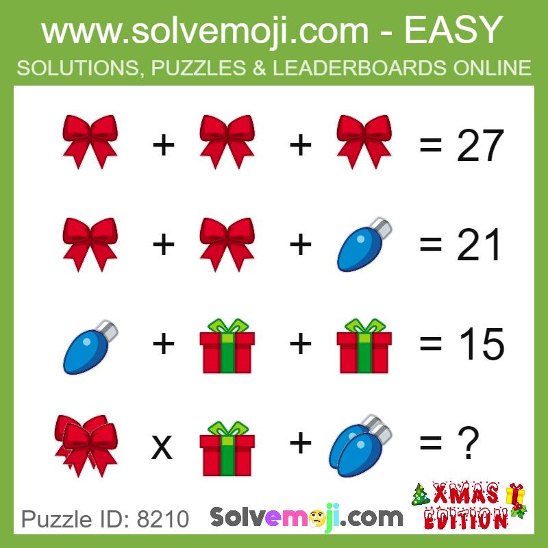 puzzle@Model Puzzle PuzzleId | Math Solvemojis | Maths