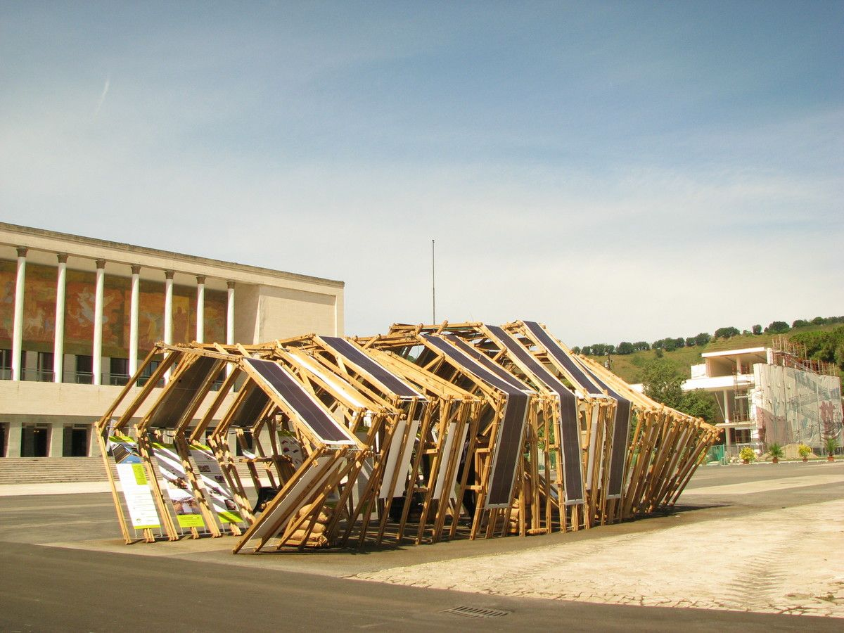 Smart Pavilion, Naples, Sixth World Urban Forum | Akcja ...