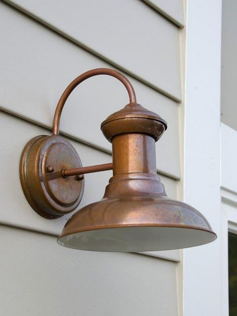 Want It On My Beach House Beach House Lighting Exterior House Lights Copper Outdoor Lighting