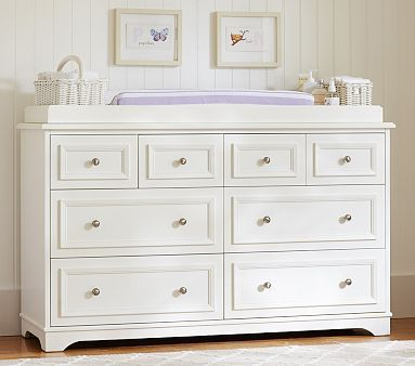 Fillmore Extra-Wide Dresser & Changing Table Topper | Kids rooms ...