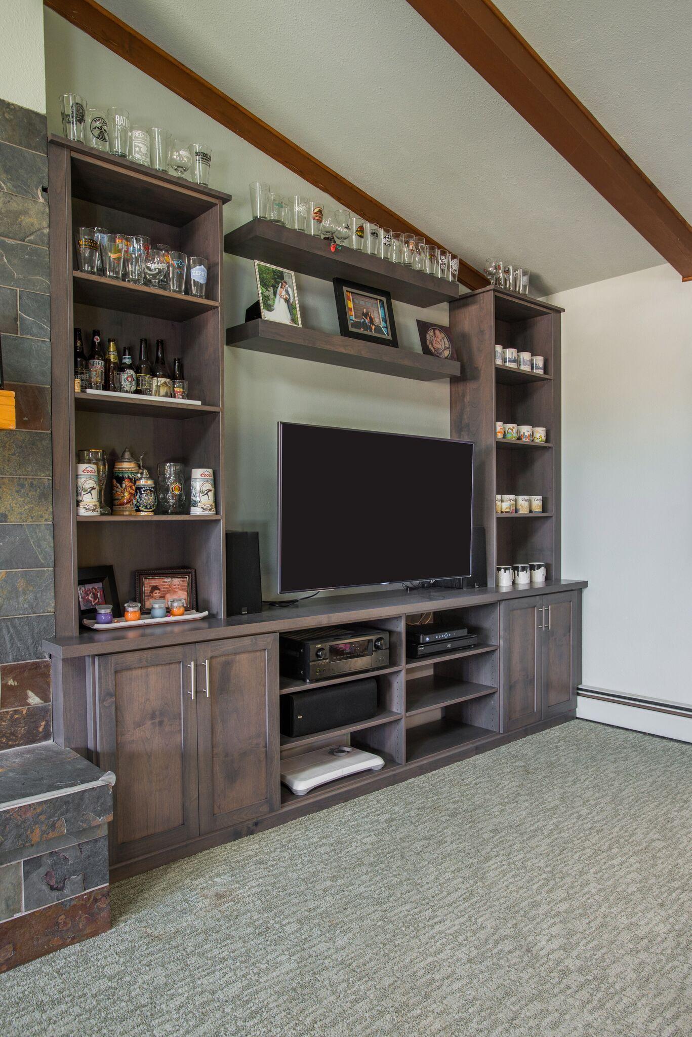 Custom Entertainment Centers By Closet Factory Colorado
