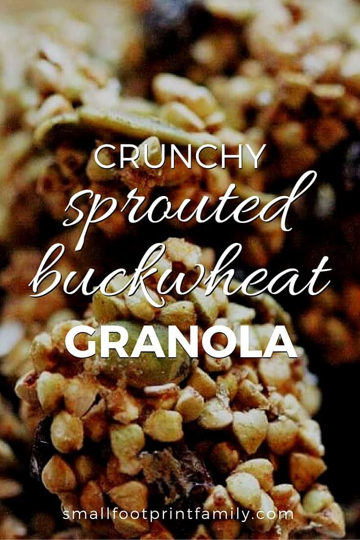 Crunchy Sprouted Buckwheat Granola Boxed cereals are processed foods that contain almost no nutrition at all (unless they are sprayed with synthetic vitamins—yuck!). This sprouted buckwheat granola recipe is a truly healthy, whole food breakfast cereal alternative.