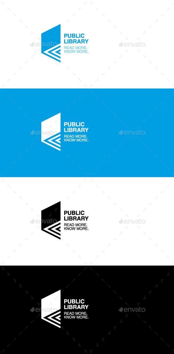 Pin by Sudheer Reddy on Logo | Book logo, Library logo, Logos